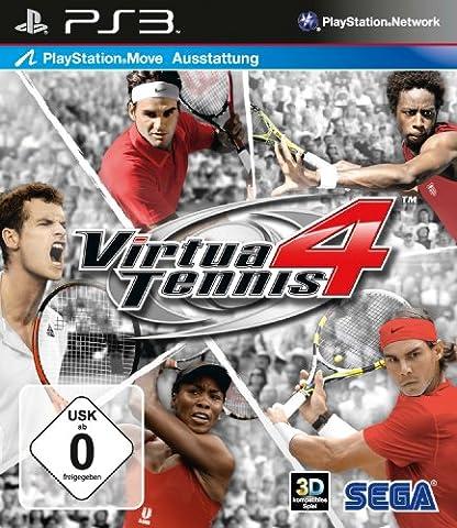 Virtua Tennis 4 (Move Unterstützung) (Mario Bros Ps3)