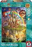 Schmidt 59276 - Ciro Marchetti, Regenbogenland, Puzzle, 1000 Teile
