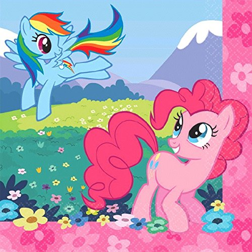 Amscan My Little Pony Serviette de Boisson