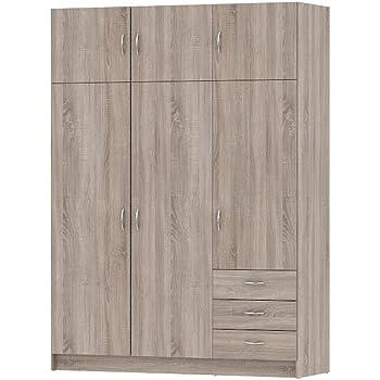 Kleiderschrank designpreis  Forte Kleiderschrank YOOP YPS83: Amazon.de: Küche & Haushalt