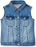RED WAGON Veste en Jean sans Manches Fille, Bleu (Blue), 10 Ans