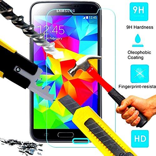*** INCASSABLE A&D®*** FILM PROTECTION Ecran en VERRE Trempé pour SAMSUNG GALAXY S4 filtre protecteur d'écran INVISIBLE & INRAYABLE vitre SOLIDE pour Smartphone galaxi S 4 SIV 3G 4G dual double SIM (ULTRA TRANSPARENT)