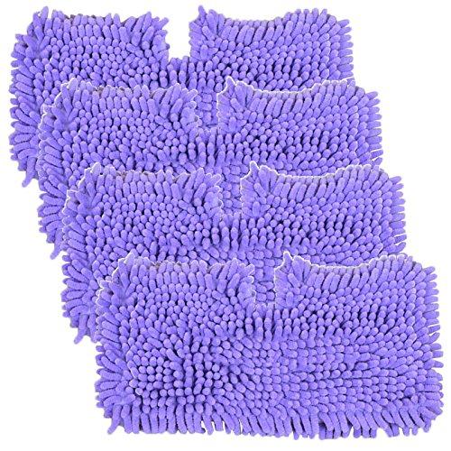 r Tasche, für Shark S2901 S3455 S3501 S3502 S3601 S3701 S3901 Dampfreiniger Mop (4 Stück, Violett ()