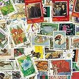 Briefmarkensammlung Afghanistan, abgestempelte Marken, verschiedene Motive, 300 Stück