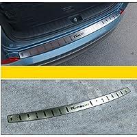 TDPQR Auto Acciaio Inossidabile Paraurti Protezione per Nissan X-Trail Posteriore Pedale di Protezione della Piastrina del Davanzale del Baule AntiGraffio Car Styling Accessori