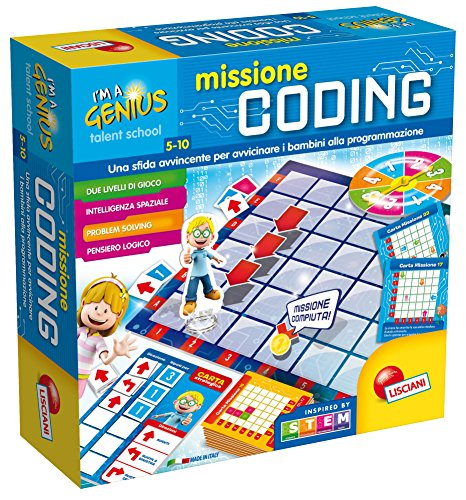 Lisciani Giochi 65394.0 Im Genius TS il Gioco del Coding
