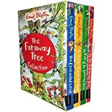 New The Magic Faraway Tree Collection 4 Books Set Pack,(Up The Faraway Tree, The Magic Faraway Tree, The Folk of the Faraway Tree, The Enchanted Wood) (Enid Blyton The Magic Faraway Tree)