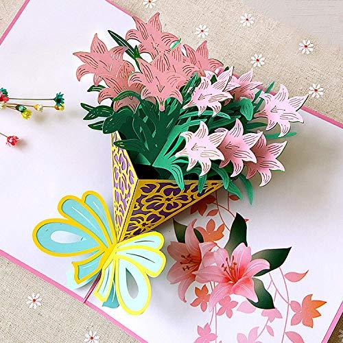 Tarjetas Felicitación de Flor