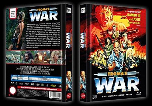 TROMAS WAR - UNCUT- 84 DVD + BLU-RAY MEDIABOOK