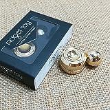 Fidget Orbiter Magnetisch Ball Anti Depression Fidget Spielzeug für Kid (Gold)