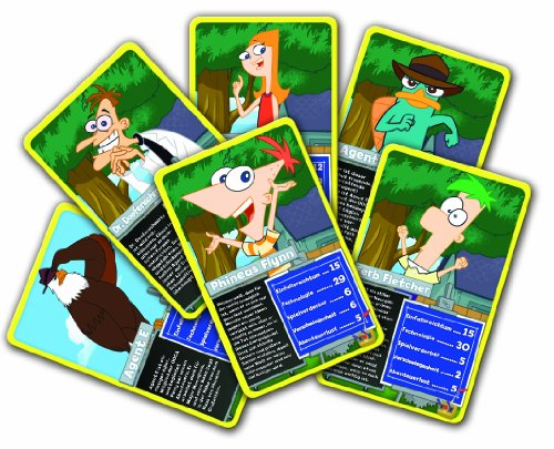Winning Moves Top Trumps 61625 - Phineas und Ferb