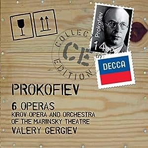 Prokofiev :  6 Opéras (Coffret 14 CD)