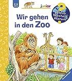 Wir gehen in den Zoo (Wieso? Weshalb? Warum? junior, Band 30) - Patricia Mennen