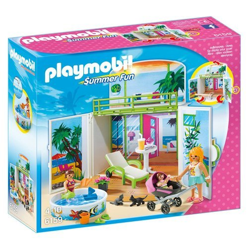 Playmobil - Cofre maletín juegos en la terraza (6159)