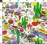 Feier, Fiesta, Mexiko, Mexikaner, Sombrero Stoffe -