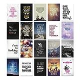 VISUAL STATEMENTS® Postkarten Set mit Sprüchen