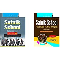Sainik School Entrance Exam Guide for Class VI + Sainik School: Previous Years Papers with Explanatory Answers (Solved…