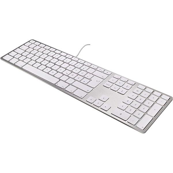 Matias Teclado USB FK318S-DE de Aluminio para Apple Mac ...