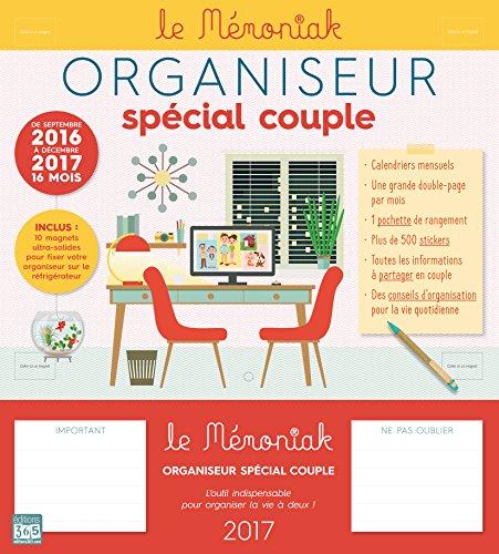 Organiseur Mémoniak spécial Couple 2016-2017