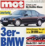 MOT - Die Autozeitschrift, Heft23/1990, Test & Technik der Youngtimer der 90er