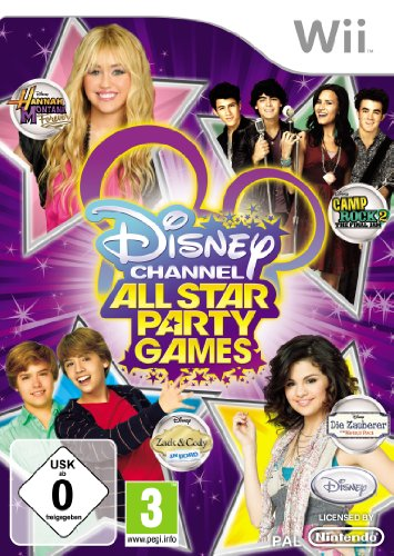 Serie-media-konsole (Disney Channel All Star Party Games)