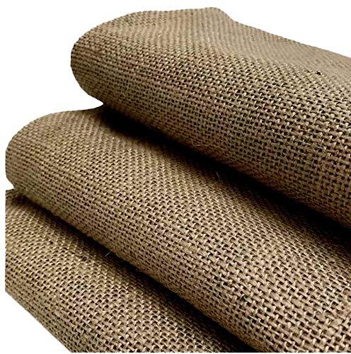 Bng puro lino grezzo 100% lino naturale pesante francese
