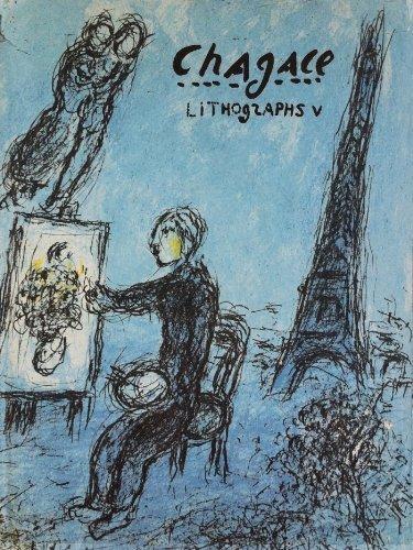 Chagall Lithograph (Chagall Lithographs V)
