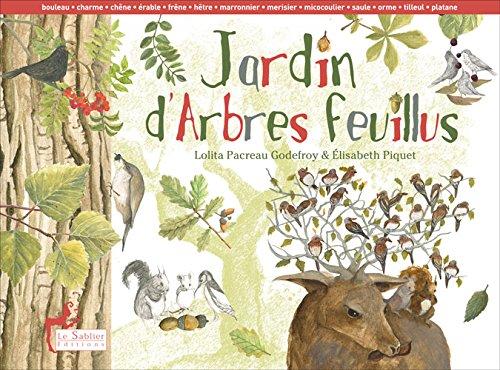 Jardin d'arbres feuillus par Lolita Pacreau-Godefroy