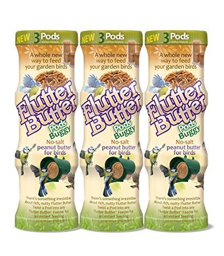 Flutter Butter Portionen mit Insektengeschmack (Insekten) 9er Packung