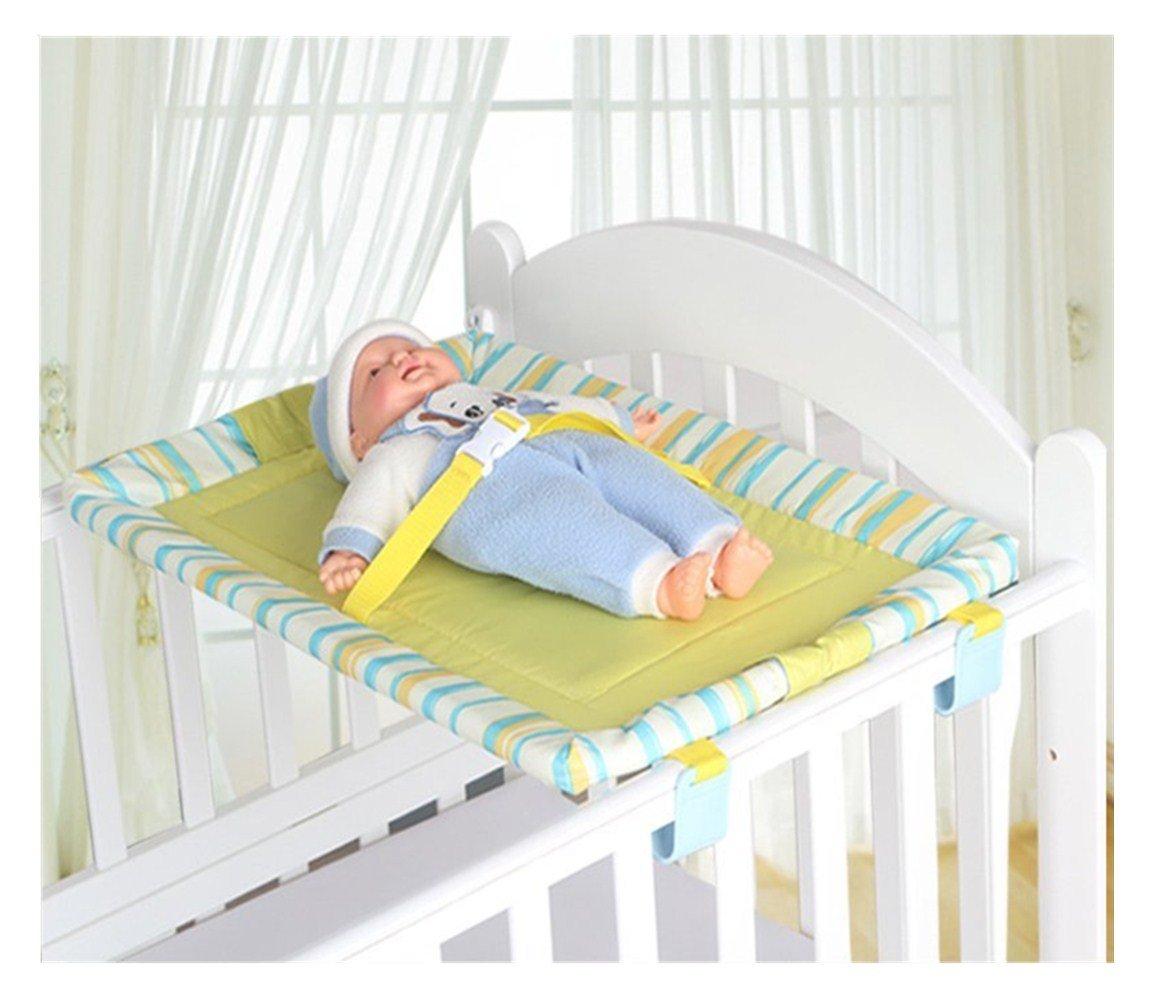 Universale Culla Top Changer bambino portatile fasciatoio 5 colori 70 X 45 CM (Giallo)
