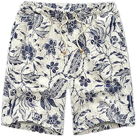 Mens Summer Beach Cotton Shorts Enjoy Your Fashion Summer Styles.