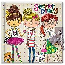 Rachel Ellen amigos diario secreto, multicolor