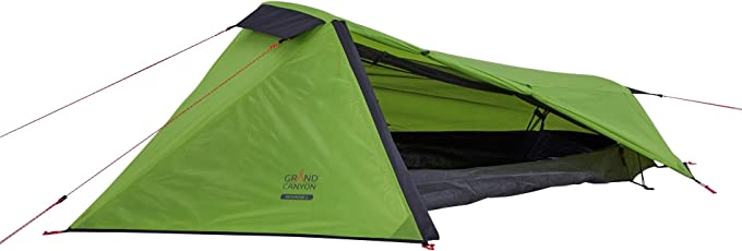 Grand Canyon Richmond 1 - leichtes Zelt, 1 Person, für Trekking, Camping, Outdoor, Festival, kleines Packmaß, Wasserdicht, in verschiedenen farben