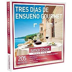 SMARTBOX - Caja Regalo -TRES DÍAS DE ENSUEÑO GOURMET - 205 lujosos hoteles 5*, palacios y monasterios en España y Andorra
