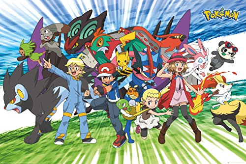 GB-eye-LTD-Pokemon-Traveling-Party-Maxi-Poster-61-x-915-cm