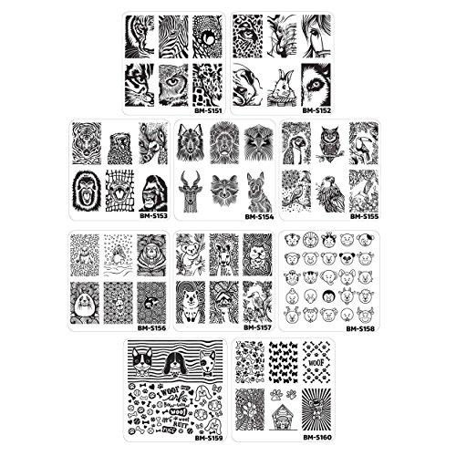 bundle-monster-manicura-betun-manicura-estampacion-placas-borroso-y-feroz-10-piezas-borroso-y-feroz-