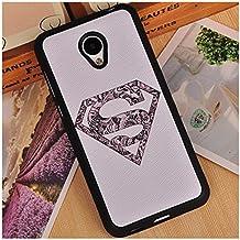 Prevoa ® 丨 Meizu M2 Mini Funda - Colorful Silicona Protictive Carcasa Funda Case para Meizu M2 Mini 5,0 Pantalla Smartphone - 6