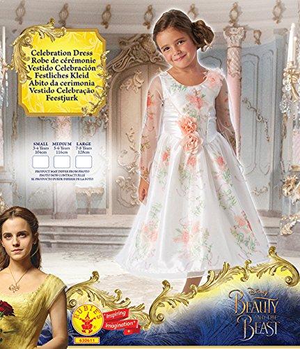 Imagen de rubie 's–disfraz de oficial de disney belle–la bella y la bestia película childs celebración alternativa