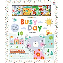 Tiny Town Busy Day (Soft Felt Play Books)