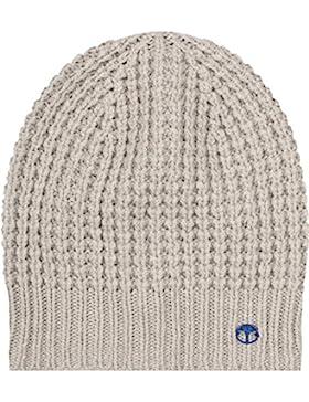 JOOP! Damen Mütze Schurwollmix Accessoire Unifarben, Größe: Onesize, Farbe: Beige