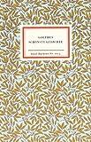 Goethes schönste Gedichte (Insel-Bücherei)