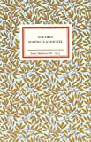 Goethes schönste Gedichte (Insel-Bücherei, Band 1013) - Johann Wolfgang Goethe