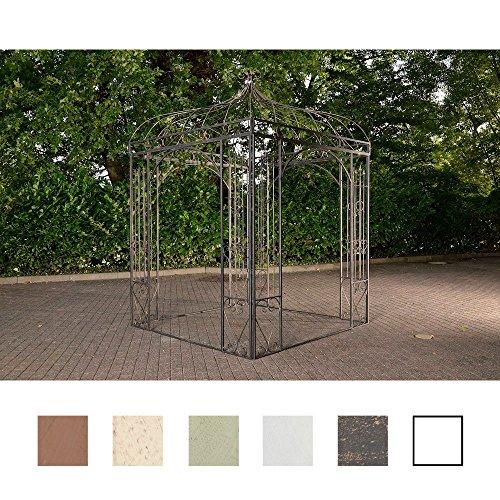 CLP Rosenpavillon MANJA aus Eisen mit stilvollen Verzierungen I Rankpavillion aus...