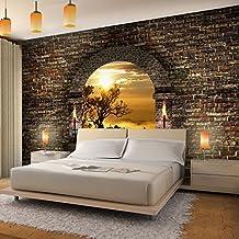 vlies fototapete tropical sunset 352x250 cm 9025011a runa tapete - Schlafzimmer Tapete