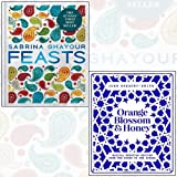 Orange Blossom & Honey, Feasts 2 Books Collection Set - Magical Moroccan recipes from the Souks to the Sahara