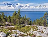 Schweden 2018 Großformat-Kalender 58 x 45,5 cm: Sverige - Sweden