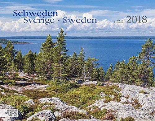 Schweden 2018 Großformat-Kalender 58 x 45,5 cm: Sverige - Sweden: Alle Infos bei Amazon