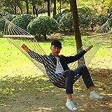 Ferrell tragbar Nylon Seil Swing stark Hängematte breit für Outdoor Terrasse Yard Veranda