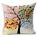 Beautiful Colorful Flower Tree Cotton...