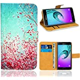 Samsung Galaxy A5 (2016) Housse Coque, FoneExpert Etui Housse Coque en Cuir Portefeuille Wallet Case Cover pour Samsung Galaxy A5 (2016)